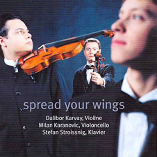 CD cover spread your wings