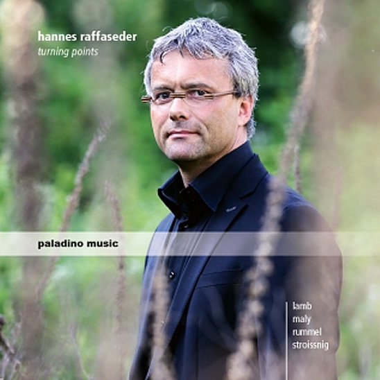 CD Cover Hannes Raffaseder - Turning points 2016