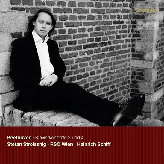 CD Cover Beethoven Klavierkonzerte 2 und 4